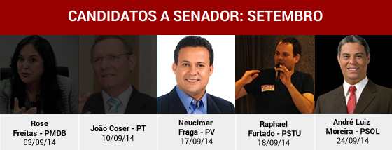 Candidatos Governador